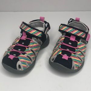 Cat & Jack Sandals Hiking water Shoes Girls Size 6